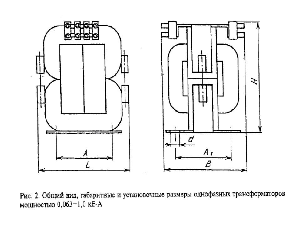 Сухой трансформатор ОСМ