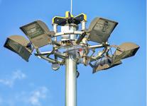 Мачта освещения с мобильной короной – МГФ-М