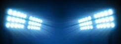 Установка прожекторных мачт