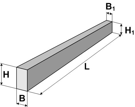Стойки железобетонные вибрированные СВ (до 35 кВ)