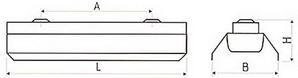 Промышленный светильник ЛСП премиум серии 61